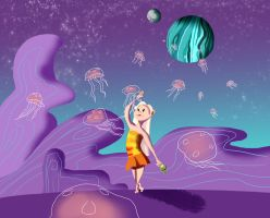 Jelly Migration by MagykDisneyRide