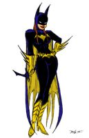 Batgirl by kanefinger1939