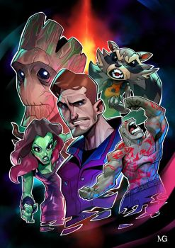 Guardians of the Galaxy by MaxGrecke
