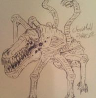 cloverfield parasite by LECTER14