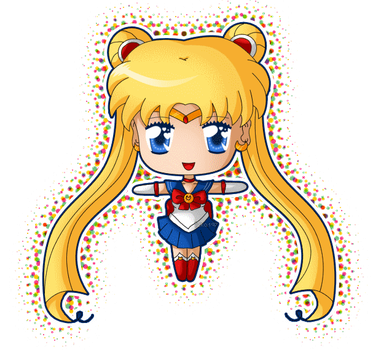 Chibi Sailor Moon Blink by izka197