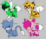 Felines [PATCH 10] ALL TAKEN by CammyAndBella-Adopt