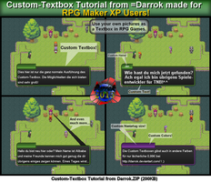 Custom-Textbox Tutorial for RPG Maker XP by Darrok