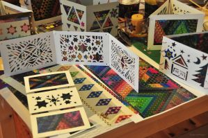 Magic Triangles Handicraft Work by 8DFineArt