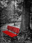 Red Bench by PaSt1978