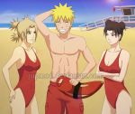 Naruto-Baywatch Xover: You broke the float? by JuPMod