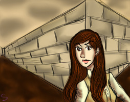 Sarah in the Labyrinth by MissSpock