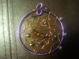 My first Dream Catcher by WyckedDreamsDesigns