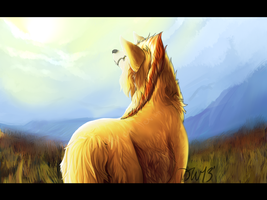 Where is my mind .:Speedpaint Art trade:. by Asleri