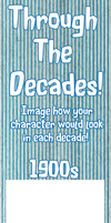 Through the Decades Meme Template! by PanTran