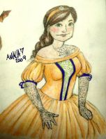 Hallow Lady color by amaliaseven