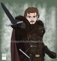 Game of Thrones: Robb Stark by EadgeArt