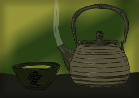Drinks with Friends 15 - Green Tea by resresres