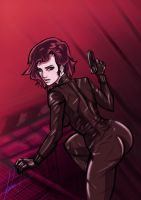 black widow-anime by Night-hawk-Tamps
