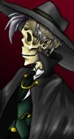 Portrait of an Opera Ghost by Chrystalis