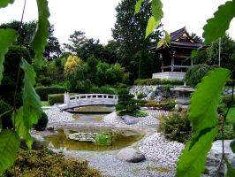 Japanese Garden by ZephyrsChild