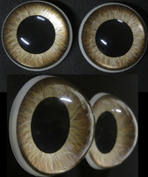 2 inch 3D eyes painted by DreamVisionCreations