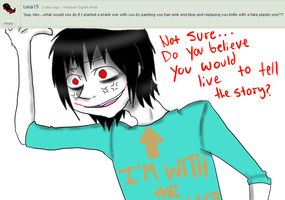 Ask Jeff The Killer 7-Question 16. by MikaelBratLoni
