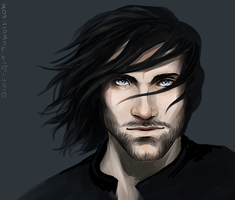Aragorn. Strider by the-ALEF