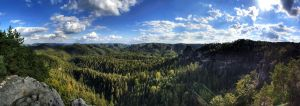 saxon switzerland pano 2 by ThorBet