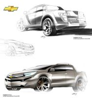 Chevy PickUp by Slavche