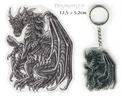 Keychain for Drakhenliche by Dragarta