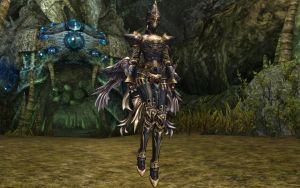 Lineage 2 Divine Wizard by Brownfinger