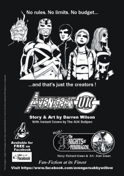 Avengers UK Advert by willow616