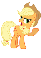 Applejack vector by Pilot231