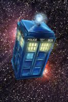 the TArdis by munkierevolution
