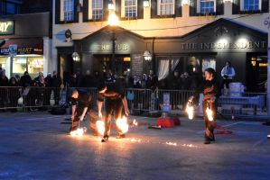 Fire and Ice Festival, Hot Trio Act by Miss-Tbones