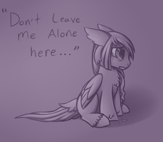 'Don't leave me' by Crystal-Comb