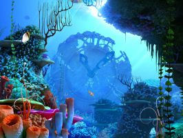 coral reef 3 by indigodeep