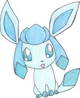 Chibi Glaceon by Simply-Auburn
