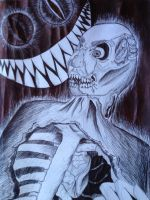 The Monster Which Eats Me by FrostPeony