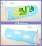 Oriental dragon Pencil case by Dragons-Garden
