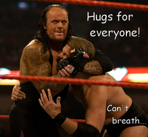 Undertaker's Hug of DEATH by BluecheetahX3