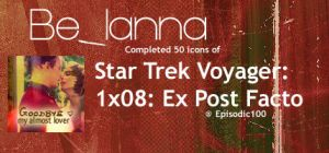 50 Star Trek Voyager Icons: Expost Facto by Belanna42