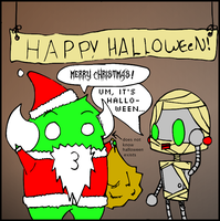 Comic 8 - Happy Halloween by F8iscruel