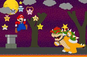 Mario And The Seven Star Spirits by Kphoria
