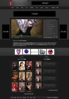 Adult web site design. by 29boby