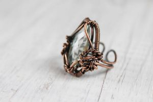 Copper ring by Schepotkina