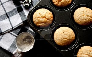 Plain Vanilla Cupcakes. by munchinees