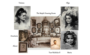 Portraits in the Maple Drawing Room... A Guide by I-TsarevichAlexei13