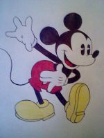 Mickey Mouse by Kat2strawberis