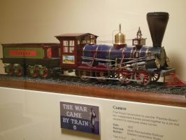 North Pennsylvania RR 0-8-0 'Carbon' Scale Model by rlkitterman