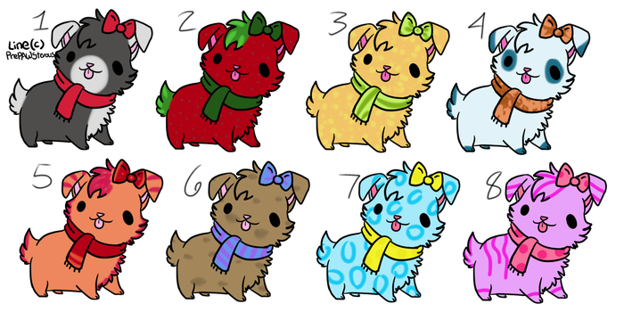 Dog Adopts (open) by jae-adopts