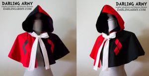 Harley Quinn Batman Cosplay Capelet by DarlingArmy