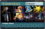 Pokemon Trainer card Erikson by SailorPhantom