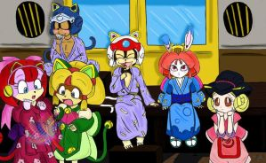 Samurai Pizza Cats - group - by Petunia43